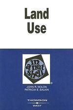 Land Use in a Nutshell, Patricia E. Salkin, John R. Nolon, Acceptable Book