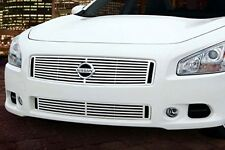 Quarter by Quarter Style 2pc Grille Fits 2009-2015 Nissan Maxima Stainless Steel