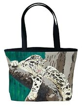 Leopard Handbag, Tote Bag - From My Painting, Secluded Grace