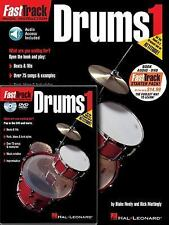 FastTrack Drums Method Starter Pack: Book/Online Audio/DVD Pack Fast Track Hal