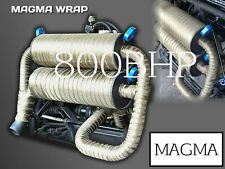 HIGH TEMPERATURE UK MADE Magmawrap® Exhaust Wrap 50mm x 30M Heat Bandage