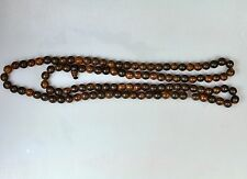 ANTIQUE VINTAGE CHINESE  CHEN XIANG PRAYER BEADS NECKLACE AGARWOOD ALOESWOOD