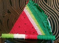 "Watermelon Garden Party Pinata 10"" filled with Sweets Birthday Party & Stick"