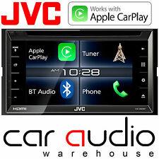 "JVC KW-V820BT 6.8"" Double Din CD DVD MP3 USB Bluetooth Apple Carplay Car Screen"