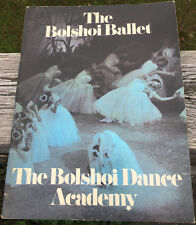 THE BOLSHOI BALLET  THE BOLSHOI DANCE ACADEMY  1973 SEASON PROGRAM