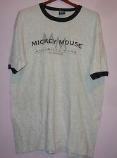 Vintage 90s Mickey Mouse Unlimited Wear Ringer T Shirt Gray XL