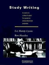Study Writing: A Course in Written English for Academic and Profession-ExLibrary