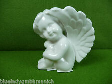 Figur Porzellan �� ANGEL H:10 cm �� große Flügel SKULPTUR Angel Figurine Ange