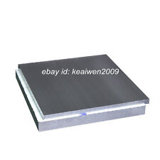 150x100x12mm ALUMINUM 6061 Flat Bar Plate Sheet 12mm Thick Solid Cut Mill Stock