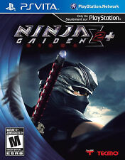 Ninja Gaiden Sigma 2 Plus USED SEALED Sony PlayStation PS Vita **FREE SHIPPING!!