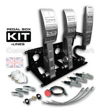 UNIVERSAL HYDRAULIC FLOOR MOUNTED BIAS PEDAL BOX INCLUDING KIT CMB6666-Hyd-Ali-K