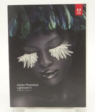 Adobe Photoshop Lightroom 4 New Sealed Windows Mac