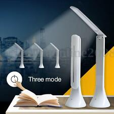 Rechargeable Dimmable Lampe de Table Bureau USB Tactile Touch LED Lecteur Light