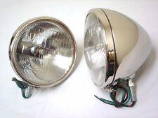 1933 1934 Ford Car STAINLESS Headlights Glass Lens Logo