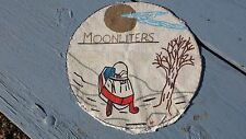 Vintage Moonliters Moonlighters Snowmobile Club Large Patch Polaris