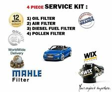 FOR AUDI A5 2.7 TDi 2007-- NEW SERVICE KIT OIL AIR FUEL POLLEN (4) FILTER SET