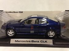 2002 Mercedes Benz CLK, Collectibles 1:18 Scale, Diecast MotorMax Toys, Blue