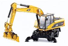 NORSCOT #55177    Caterpillar M318D Wheel Excavator    Assembled   1:87