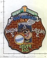 Connecticut - Hartford Engine 5 Ladder 2 CT Fire Dept Patch - East Hartford