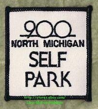 LMH PATCH Badge  900 NORTH MICHIGAN  Shops Garage Shopping SELF PARK  Chicago IL