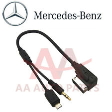 Mercedes Benz Media Interface Aux cable for Samsung S5 S6 S7 Note 3 4