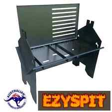 Ezyspit Flat Pack Spit BBQ Rotisserie, Fire Pit  folding barbecue for camping