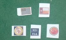 1/6 scale set of Seal Team Patches from Operation Red Wings in  Afghanistan