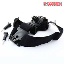 360 Degree Rotate Adjustable Double Head Strap Belt Mount for GoPro Hero 3 3+ 4