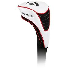 Taylormade Golf Tm White Driver White Black Red Headcover