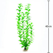 Artifical Grass Aquarium Fish Tank Water Weeds Plants Decoration CA02 Green D4
