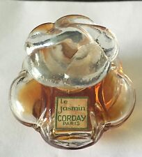 Le JASMIN by CORDAY Pure Perfume 1/2oz crystal bottle FRANCE super RARE& VINTAGE