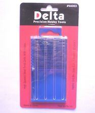 Delta Hobby Tools - 20 x High Speed Steel Metric Drill Bit Set 0.3 - 1.6mm
