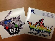 Voltron Defender of the Universe original & 30th Anniversary Decal Stickers BNIB