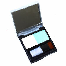Eye Shadow Liner Cosmetic Make Up Technic Shimmer Palette Blue and White
