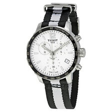 Tissot Quickster Brooklyn Nets Edition Chronograph Mens Watch T095.417.17.037.11