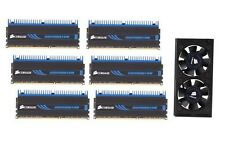 Corsair Dominator DHX 12GB (6*2GB) 1600MHz DDR3 RAM Kit + Airflow Fan - X58