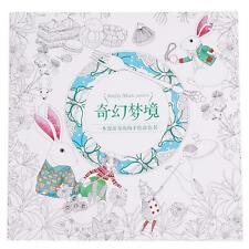 Fantasy Dream Adult Painted Coloring Book Great Friendship Gift Chinese Ver - LD