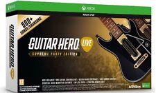 GUITAR Hero LIVE Supreme Party Edition Xbox One. GIOCO e 2 chitarre incluso. NUOVO