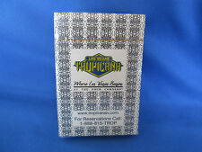 New Las Vegas TROPICANA Hotel and Casino Deck of Playing Cards Sealed