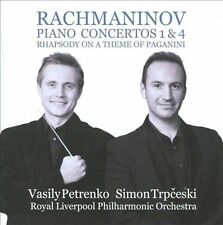 Rachmaninov: Piano Concertos Nos. 1 & 4, New Music