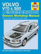 Volvo S80 Repair Manual Haynes Workshop Service Manual  1998-2007 4263