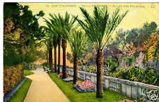CPA 06 CAP D'ANTIBES villa eil en roc  allée des palmiers