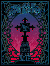 BLACK SABBATH The End Mandalay Bay - Las Vegas 2016 Concert / Gig Poster 99/400