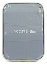 Lacoste Club Solid King Pillowcases Insignia Blue - MSRP $95