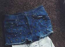 High Waisted Ragged Priest Shorts LF Stores Size M/L