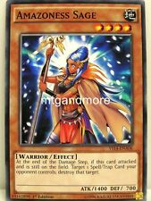 Yu-Gi-Oh - 1x Amazoness Sage-ys14-Super Starter space-time Show Down