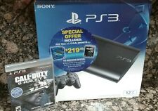 Sony PlayStation 3 Call of Duty Ghosts Bundle 12GB Brand New Sealed OOP HTF Rare