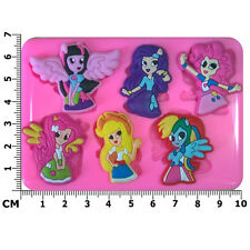 Equestria Girls My Little Pony MLP Silicone Mould by Fairie Blessings
