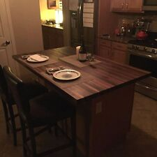 """Forever Joint Walnut Butcher Block Top 1-1/2""""x36""""x72"""" Kitchen Table Top"""