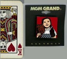 Wizard of Oz Enamel Lapel Pin: Dorothy & Toto! New, from MGM Grand, Las Vegas!